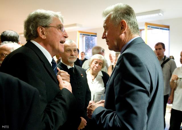 Réthelyi Miklós és Schmitt Pál (2010)