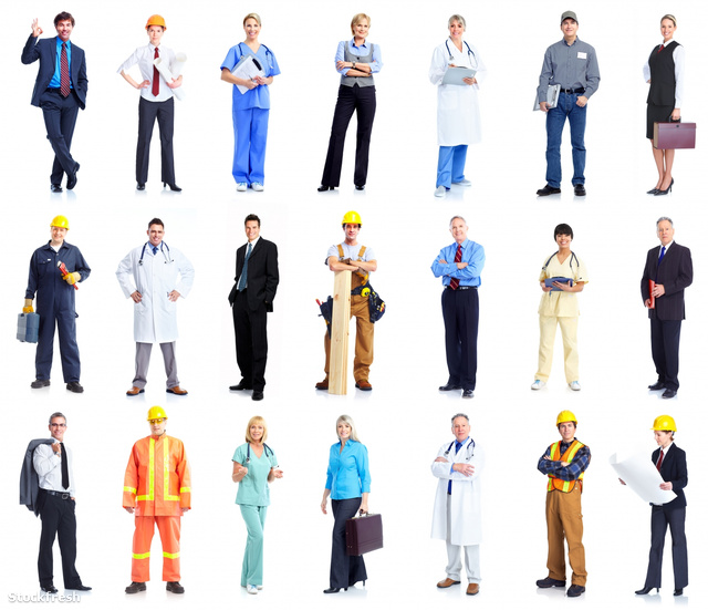 stockfresh 1320938 set-of-workers-business-people sizeM
