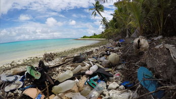 414 millió darab műanyag szemetet találtak az isten háta mögötti ausztrál szigetcsoporton