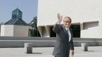 Meghalt Ieoh Ming Pei, a Louvre üvegpiramisának tervezője