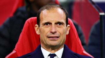 A Juventus kivágta az edző Massimiliano Allegrit