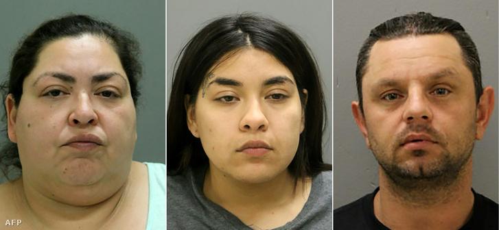Az elkövetők: Clarisa Figueroa, Desiree Figuerola és Piotr Bobak