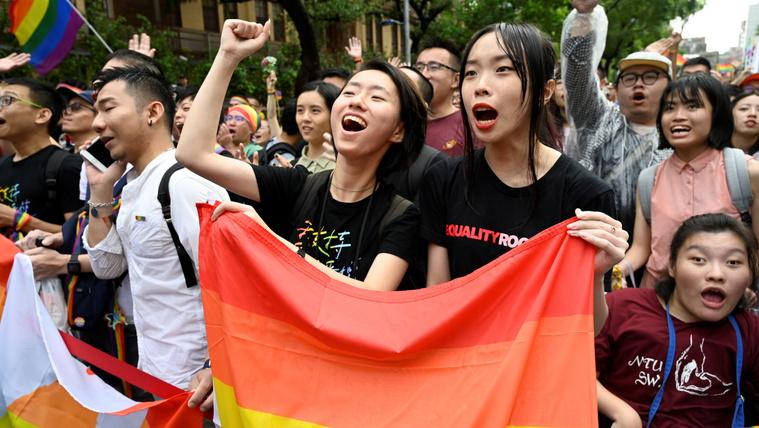 Tajvan az első ázsiai ország, ahol a kormány alkalmazkodik a melegekhez