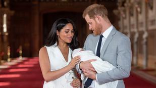 Londoni magánkórházban született a kis Archie