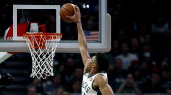 Gumiként nyúlt a Görög Szörny keze, robog az NBA-döntő felé a Bucks