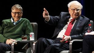 A világ 3. leggazdagabb embere 88 éves, és gyorskaján meg kólán él
