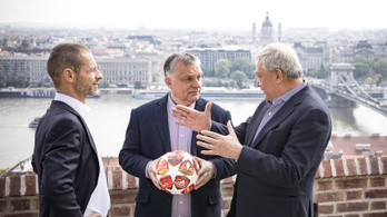 Orbán és Csányi együtt lobbizott a BL-döntőért az UEFA elnökénél