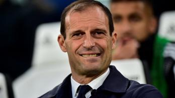 Allegri: A legjobb döntés, hogy nem adtak még egy szezont a Juventusnál