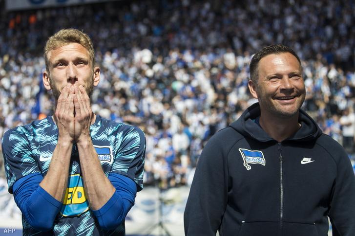 Fabian Lustenberger és Dárdai Pál