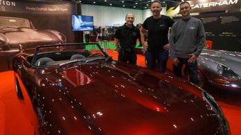 Egymillió dollárt kérnek az elektromos Jaguar E-Type-ért