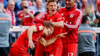 A Bayern KO-győzelemmel lett sorozatban hetedszer német bajnok