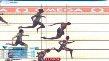 A semmiből előtörve nyerte a világ idei leggyorsabb 100 méterét