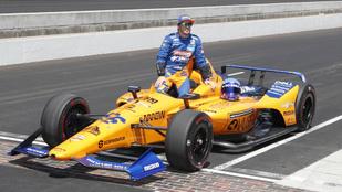 Indy 500: dráma az időmérőn, Alonsónak pótselejtezni kell az indulási jogért