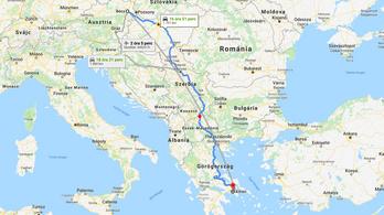 Aki Görögországba megy, most már végig autópályán szelheti át Szerbiát