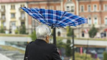 A jövő hét közepéig marad az esős idő