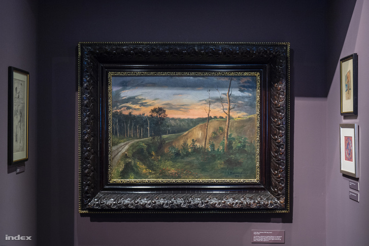 Csáth Géza egyetlen ismert festménye 1903-ban keletkezett. Magántulajdonban van