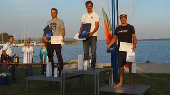 Gádorfalvi Áron ezüstérmes a szörf-Eb-n
