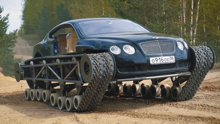 Tankot csináltak egy Bentley-ből