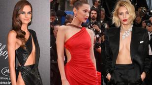 Íme 6 extrafrivol ruha Cannes-ból erről a hétvégéről
