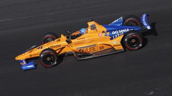Alonso óriási külső segítséggel is lemarad az Indy 500-ról