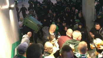 Csak egy Fradi-ultra kerül börtönbe a 2017-es verekedés miatt