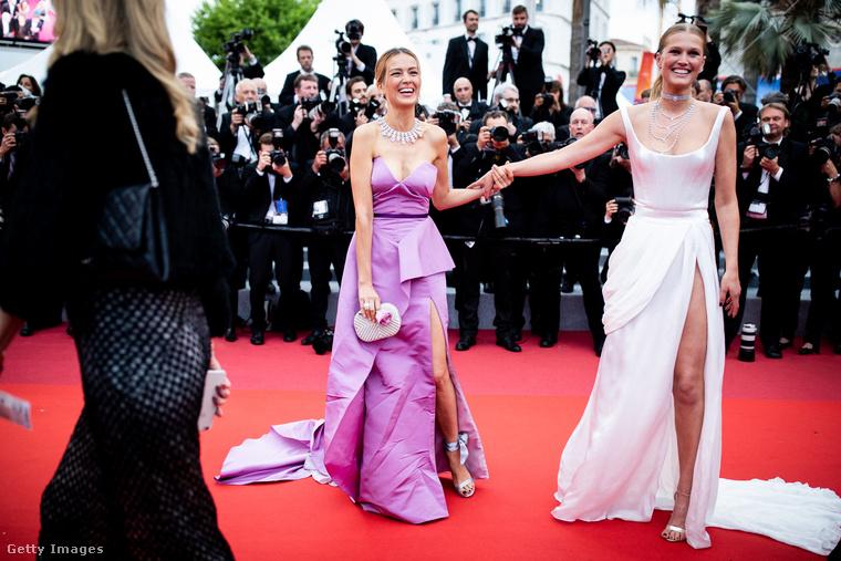 Toni Garrn az, aki német, 26 éves, néha színészkedik is, és 2013-2014-ben Leonardo DiCaprio barátnője volt.