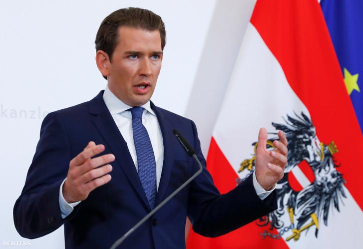Sebastian Kurz osztrák kancellár