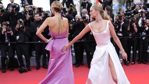 Leonardo DiCaprio exe kolléganője fenekére vert Cannes-ban a vörösszőnyegen