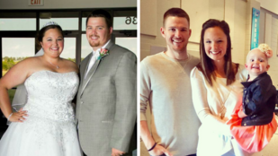 Miután majdnem belehalt a túlsúlyába, több mint egy mázsát fogyott a férjével