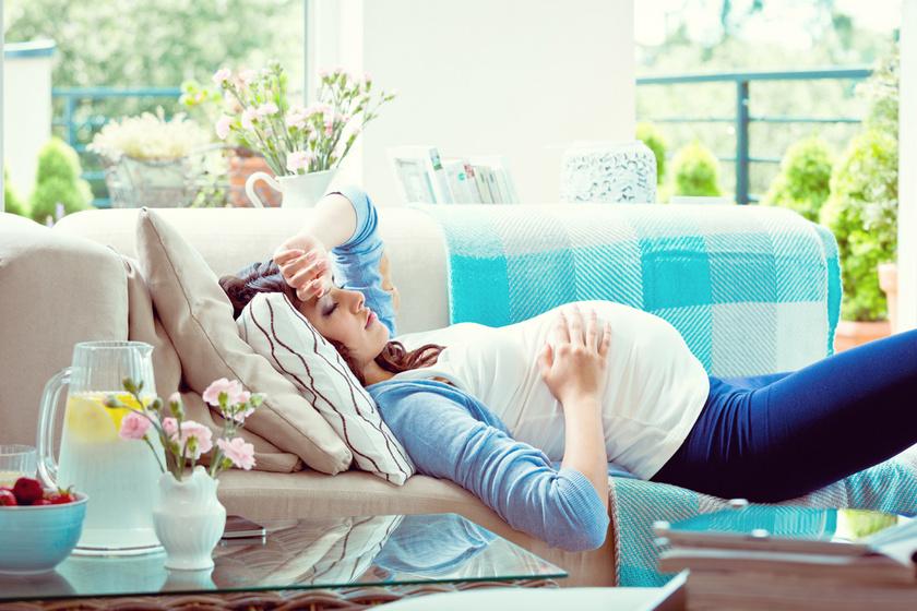 Fontos üzenete van a kutatók szerint a reggeli rosszullétnek terhesség alatt