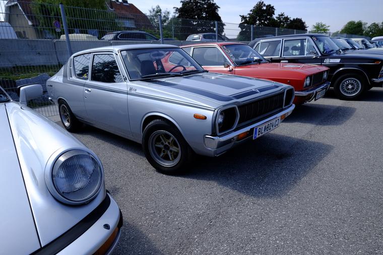 Nem hinném, hogy sok ilyen Nissan Cherry (bocsánat, Datsun 180) van még efféle épségben Európa útjain