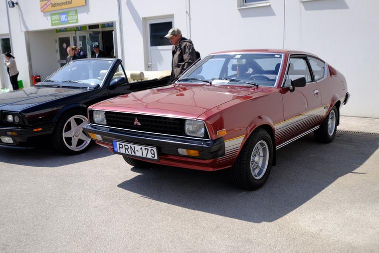 Ez a furaság pedig egy Európában mindig is ritkának számító Mitsubishi Celeste GSR - alapja egyébként a Lancer volt