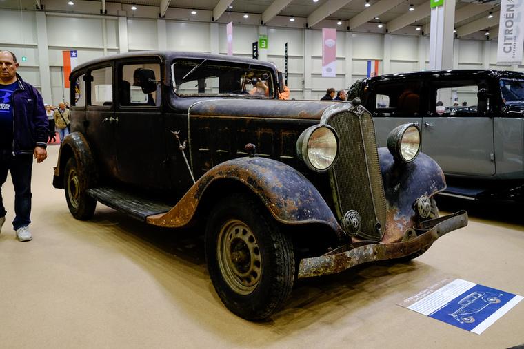 Gräf & Stift 15 NH Grand Luxe luxuskocsi 1934-ből