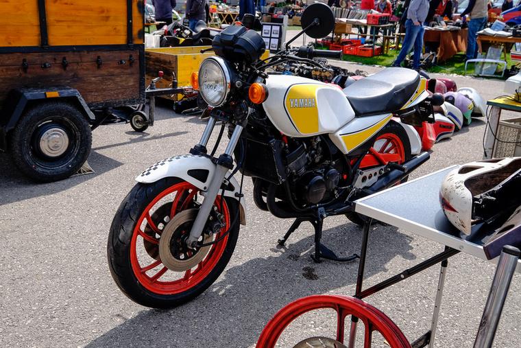 Egy ilyen Yamaha RD 1500 euróért az ajándék kategória, még ha kopottas is