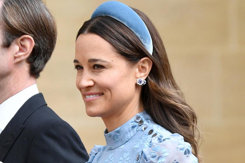 Katalin hercegné húga volt a legszebb az esküvőn - Virágmintás ruhában tündökölt Pippa