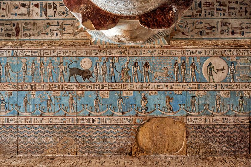 Bámulatos a 4200 éves egyiptomi szentély szépsége: alig fogott rajta az idő