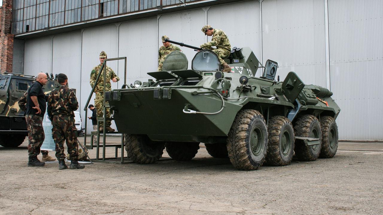 A jelen: BTR-80 A 30 milliméteres gépágyúval