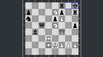A sakkból nem veszett ki a romantika, és a befejezés is pazar