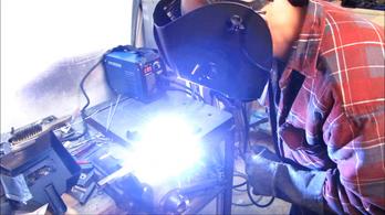 Hyundai MMA–181 inverteres hegesztőgép