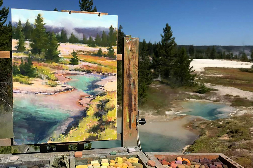 Zseniális csavarral varázsolja el képeit a festő: ettől olyan egyediek