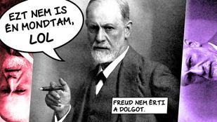 10 frappáns idézet, amit az hiszed, Freud mondott, pedig nem
