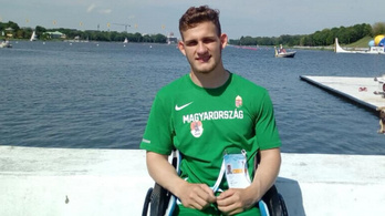 Kiss Péter 16 évesen lett aranyérmes a felnőtt para kajak-Eb-n