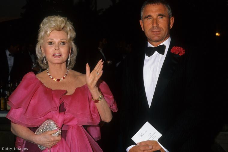 Gábor Zsazsa és Frederic Prinz Von Anhalt 1988-ban, Los Angelesben