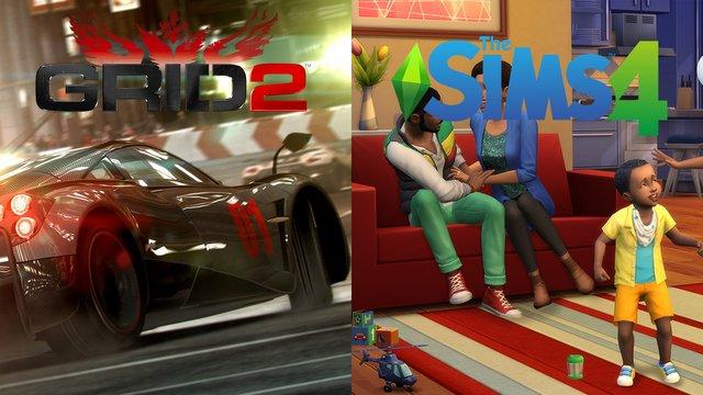 Ingyen Sims 4 és Grid 2!