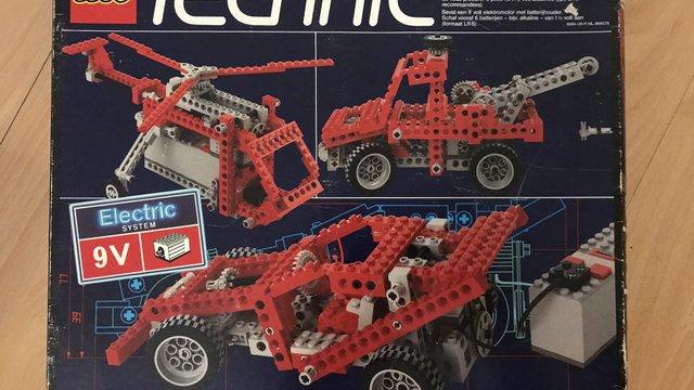 LEGO 8064 - Technic Univerzális Szett