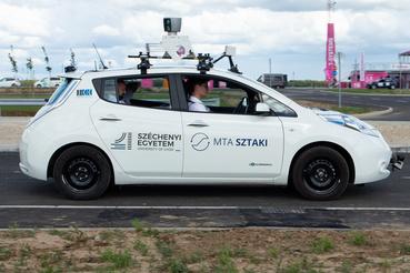 Önvezető autót tesztel a Széchenyi Egyetem