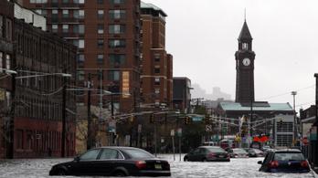 Száz éven belül víz alá kerülhet London, New York, Sanghaj