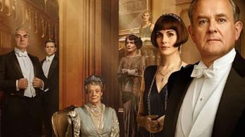 A királyi pár ellátogat Downton Abbey-be