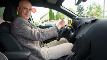 Menetpróba: Opel Corsa 6. generáció, prototípus-vezetés (validation drive) - 2019.