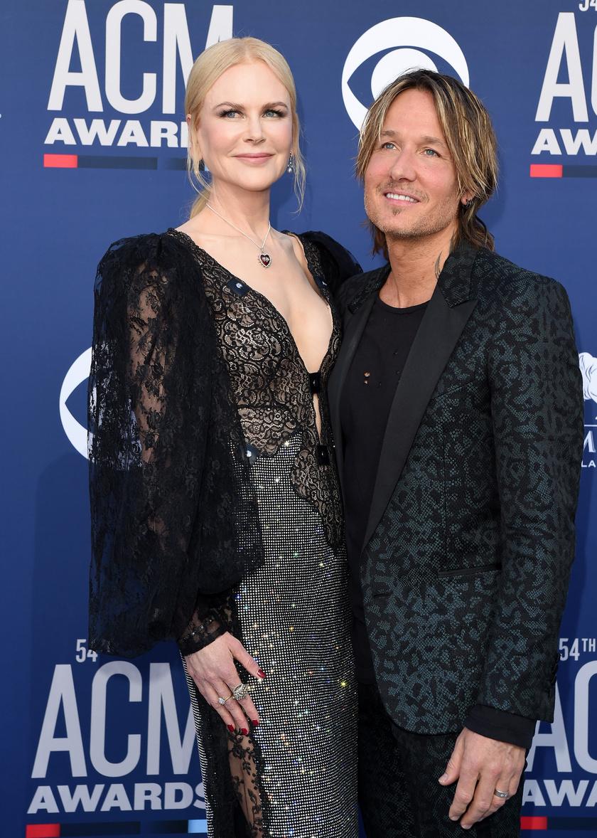 Nicole Kidman férje, Keith Urban az egyik legsármosabb country-zenész.